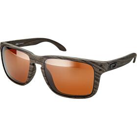 Oakley Holbrook XL Gafas de sol, woodgrain/prizm tungsten polarized